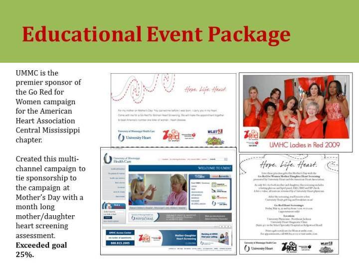 educational event package
